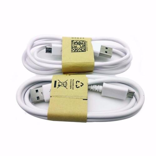cable micro usb a usb v8 nuevo datos y carga! compu vichis