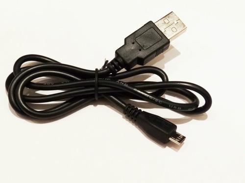 cable micro usb a usb v8 nuevo solo carga! compu vichis