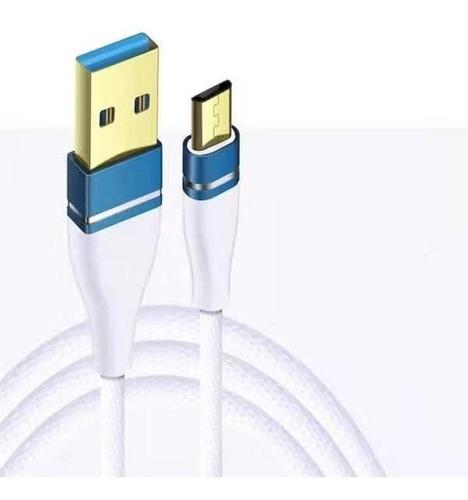 cable micro usb carga rapida cobre samsung alcatel nokia lg