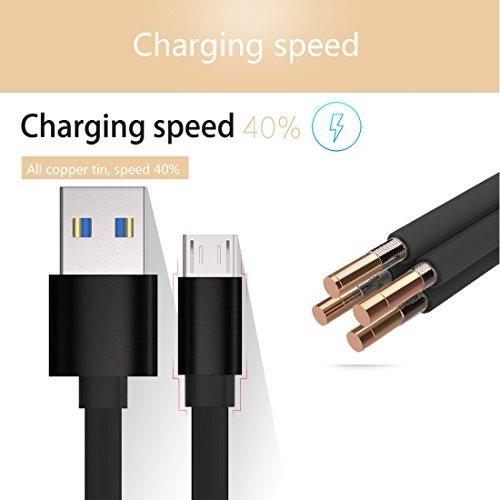 cable micro usb de cargador teléfono celular