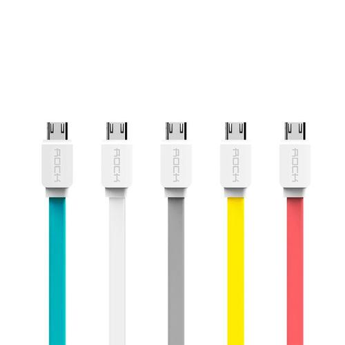 cable micro usb marca rock 100% original