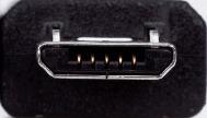 cable micro usb otg host para sony ericsson xperia arc s p u
