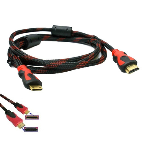cable mini hdmi 1.5 metros blindado hd celulares tv laptop