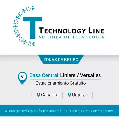 cable mini plug macho a 2 rca macho 1,8mts technology line