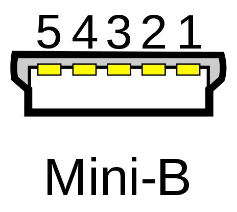 cable mini usb 5 pines otg (host) para ainol novo 7 paladin