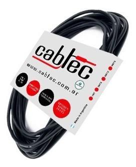 cable miniplug stereo a plug ts mono neutrik rean 9m cabtec