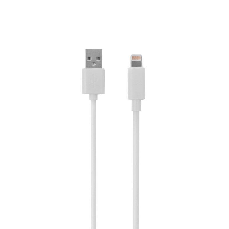a5ef58a9b3b Cable Mobo Lightning Con Blister Blanco 1m - $ 279.66 en Mercado Libre