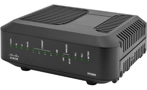 cable modem cisco intercable telefonia sin wifi  docsis 3.0