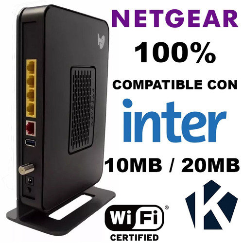 cable modem inter docsis 3.0 netgear router wifi intercable
