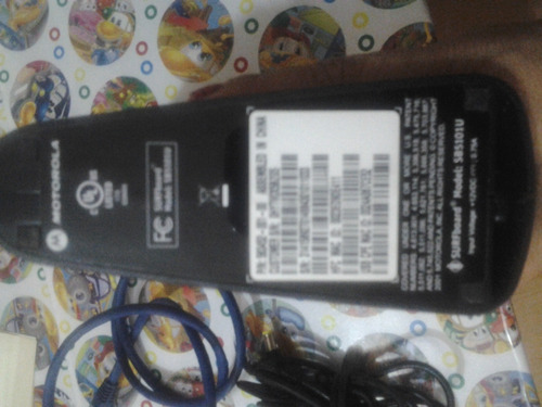 cable módem  marca motorola (cable newton)