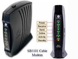 cable modem motorola sb 5101