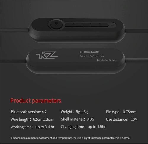 cable módulo bluetooth para audifonos kz zs3 zs5 zs6