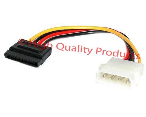 cable molex 4 pin to 1x sata (corto)