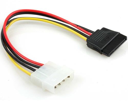 cable molex a sata xtech xtc-310 4 pines 15cm