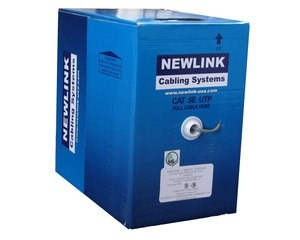 cable newlink utp p/red cat-6 box (1000ft)(new-9806741)