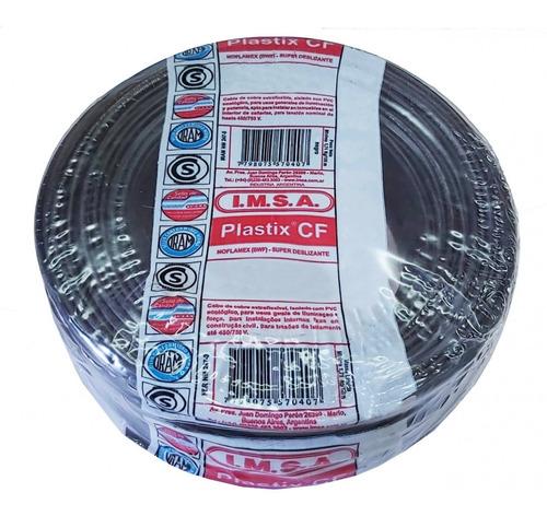 cable normalizado 2,5mm2 negro cf 2.5 neg