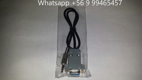 cable null rs232 a plug 2.5mm (para nuevos decodificadores)