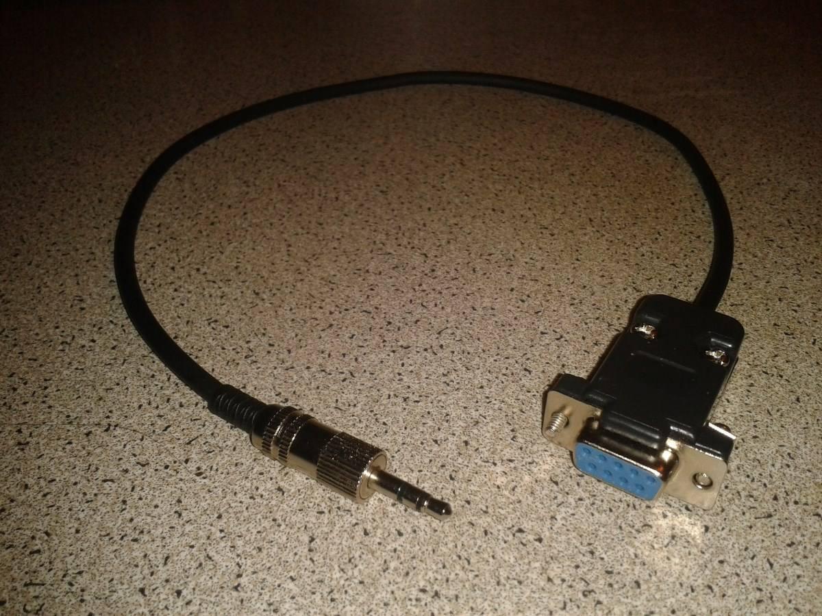 Cable null rs232 a plug para nuevos decodificadores for Precio cable 2 5mm