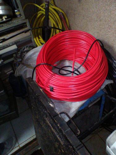 cable numero 2 marca sigma color rojo