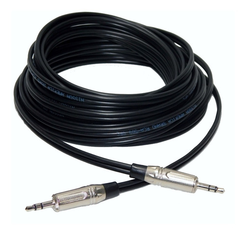 cable o.f.c. miniplug miniplug  estereo 6 mts hamc