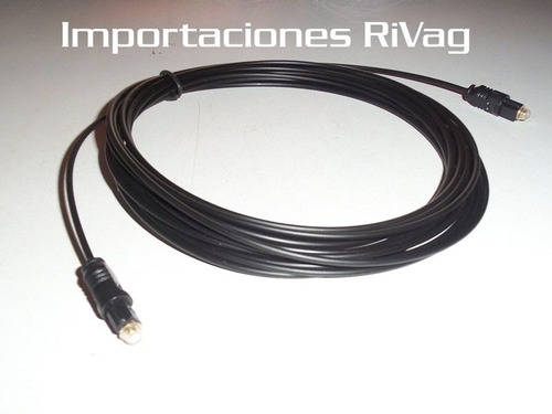 cable óptico toslink sp-dif 5mt