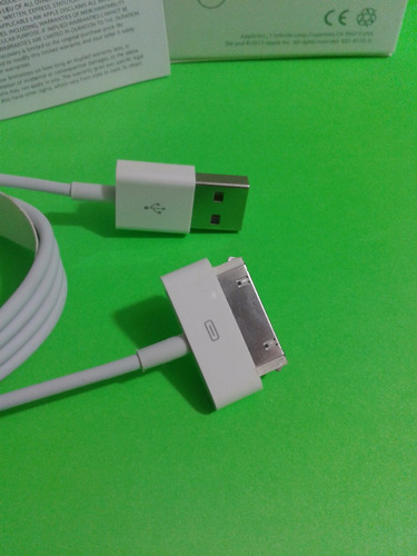 cable  original iphone 4/ 4s /ipad 2 garantia 6 meses