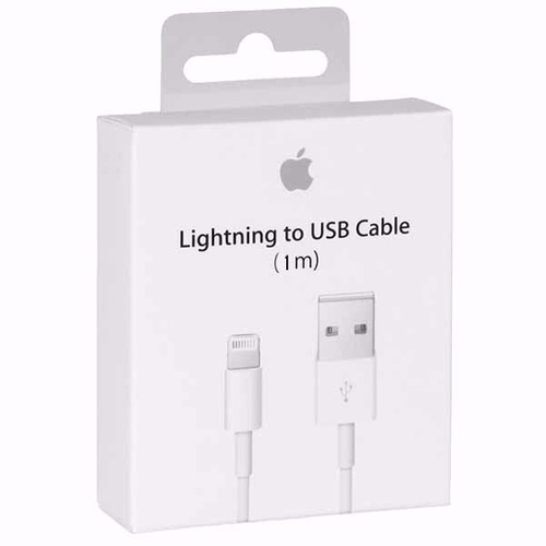 cable original iphone 5/6 apple lightning (garantizado)