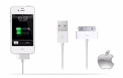cable original usb apple iphone 4g 4s
