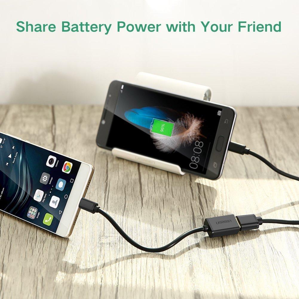 a99ce9c4f09 Cable Otg Con Micro Usb Para Celular Y Tablet Ugreen - $ 243.00 en ...