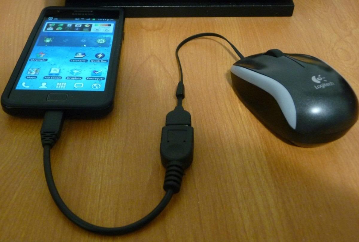 Resultado de imagen para conectar mouse a celular