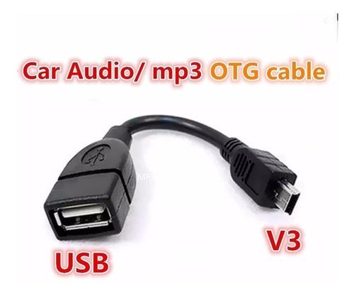 cable otg usb mini usb v3 orinoco, chery pack de 4 piezas