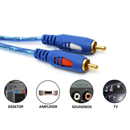 Boxeo cable 2 x 0,75 mm² 100m extensión 100 metros de cable de audio papel
