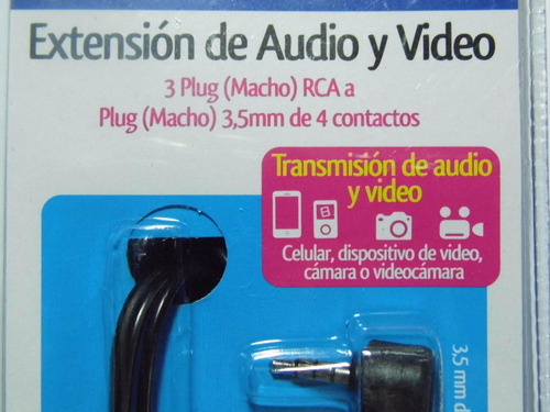 cable para audio video