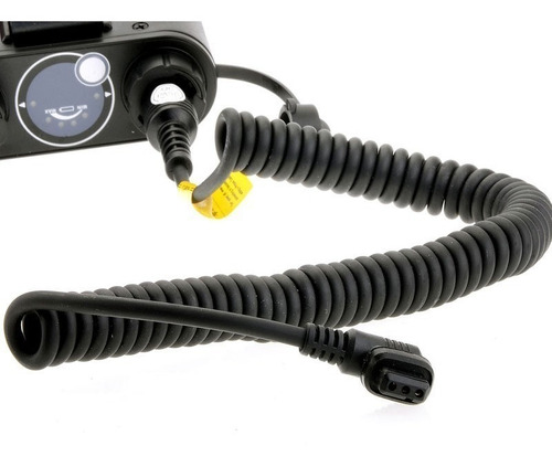 cable para batería propac pb960 godox y flash canon