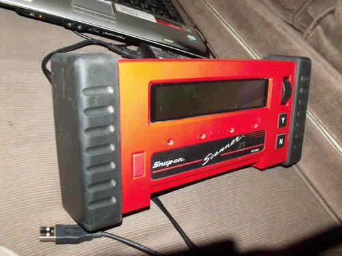 cable para encendedor para scaner snap on mod. mt-2500