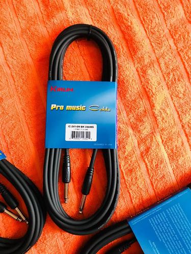 cable para instrumentos kirlin pro music de 6 mts