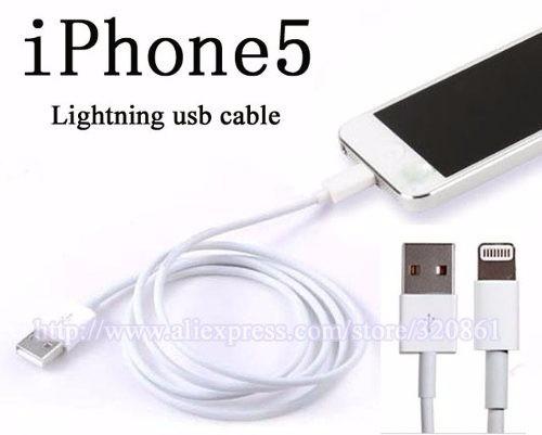 7a242f73a30 Cable Para iPhone 5 Lightning Ios 7 Y 8 + Cargador De Auto! - $ 119 ...