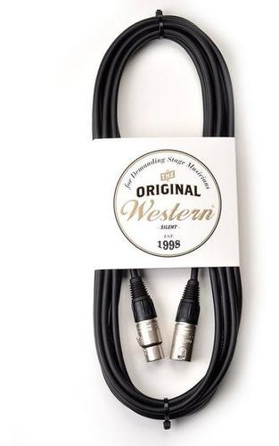 cable para microfono 3m canon neutrik western ccn30