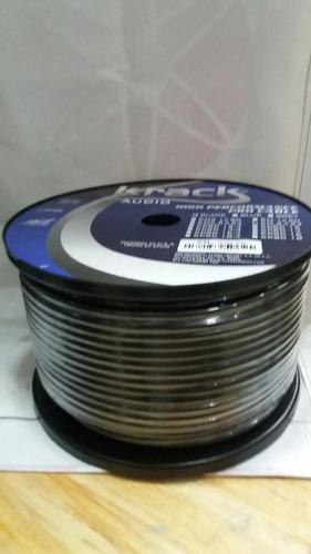cable para microfono de (100m)2x24negro