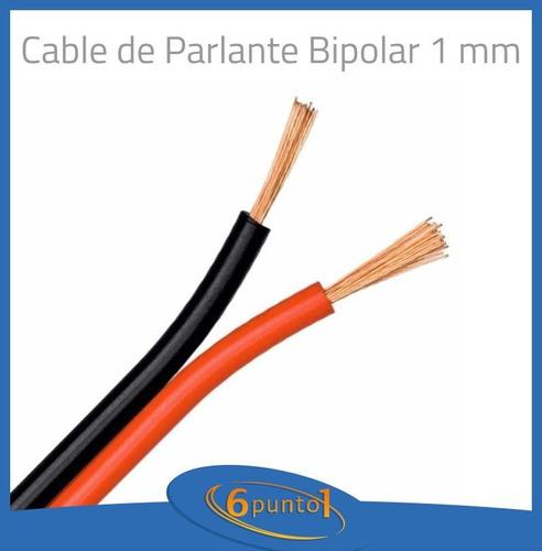 cable para parlantes - bipolar 2x1 mm - precio por metro