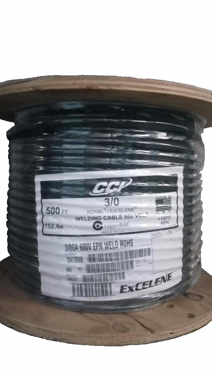 Cable Para Soldar Epr 3/0 Cci Royal Excelene (precio X Mt) - Bs ...