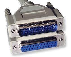 cable paralelo 1.50mt para impresora matricial, scaner