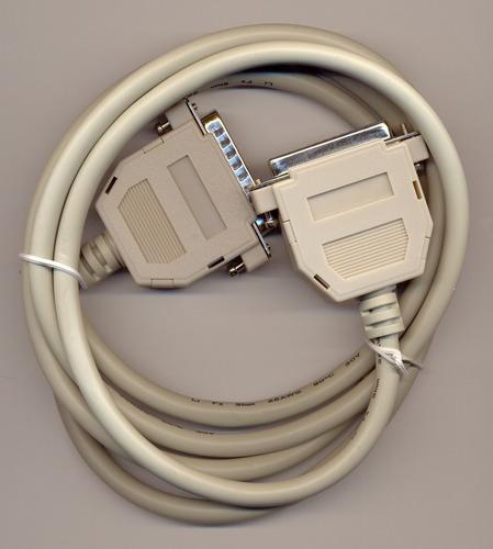 cable paralelo para impresora paralela lpt1 db25 centronics