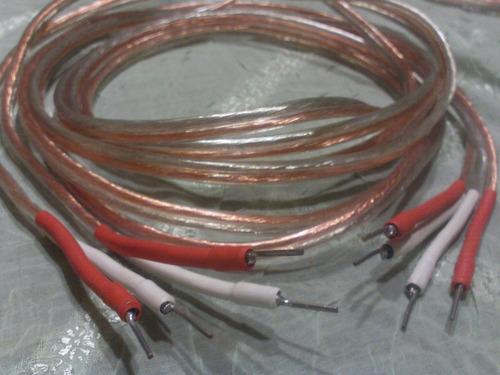 cable parlante hi fi libre oxigeno 2.5 mm2 -2,5 mts x lado