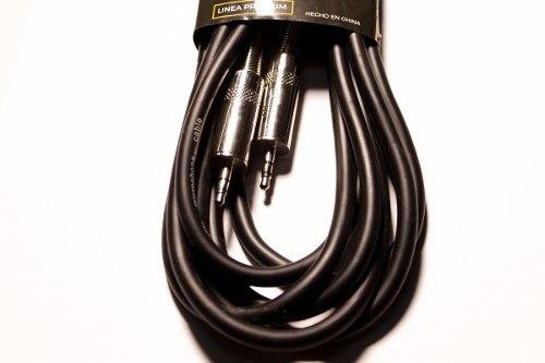 cable parquer mini plug 3,5mm a mini plug 3,5 mm 1mt cuota