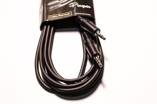 cable parquer mini plug 3,5mm a mini plug 3,5 mm 3 mts cuota