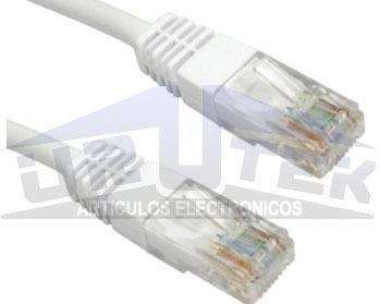 cable patchcord 15.24 m cat5e dracma categoria 5e blanco