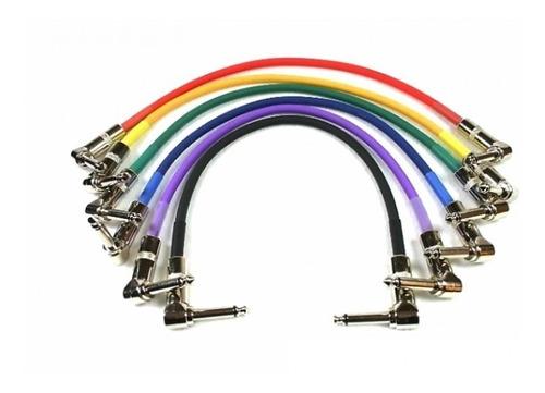 cable pedal de efecto kirlin 15cm (valor unitario) musicplay
