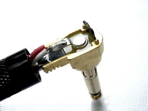cable pedal patch patcheo acoplador angulado 90 grados