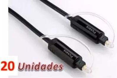 cable pickens optico digital audio 3 metros 20 unidades